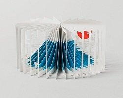 Трехмерные истории на страницах необычных книг