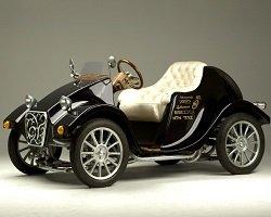Японский электромобиль в стиле ретро