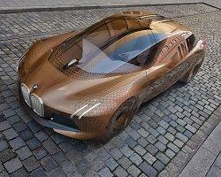Стиль и инновации в новом седане BMW Vision
