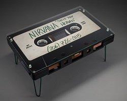 Столик в форме аудиокассеты by Altar