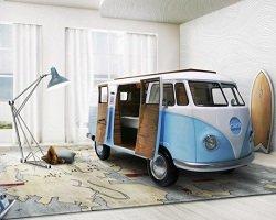 Оригинальная идея кровати для детской комнаты