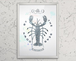 Постер Lobster A3