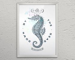 Постер Hippocampus A3