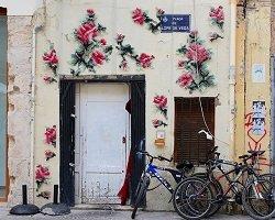 Вышивка на стенах домов by Raquel Rodrigo