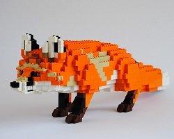 Необычные фигурки животных из Lego by Felix Jaensch