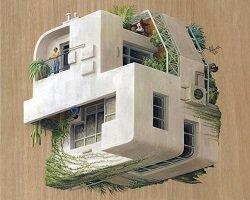 Сюрреалистичные городские пейзажи by Cinta Vidal Agullo