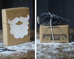 6 оригинальных идей упаковки новогодних подарков