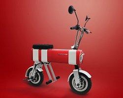 Motochimp - яркий мини-байк для городских поездок