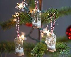 Новогодний handmade подарок – шар со снегом