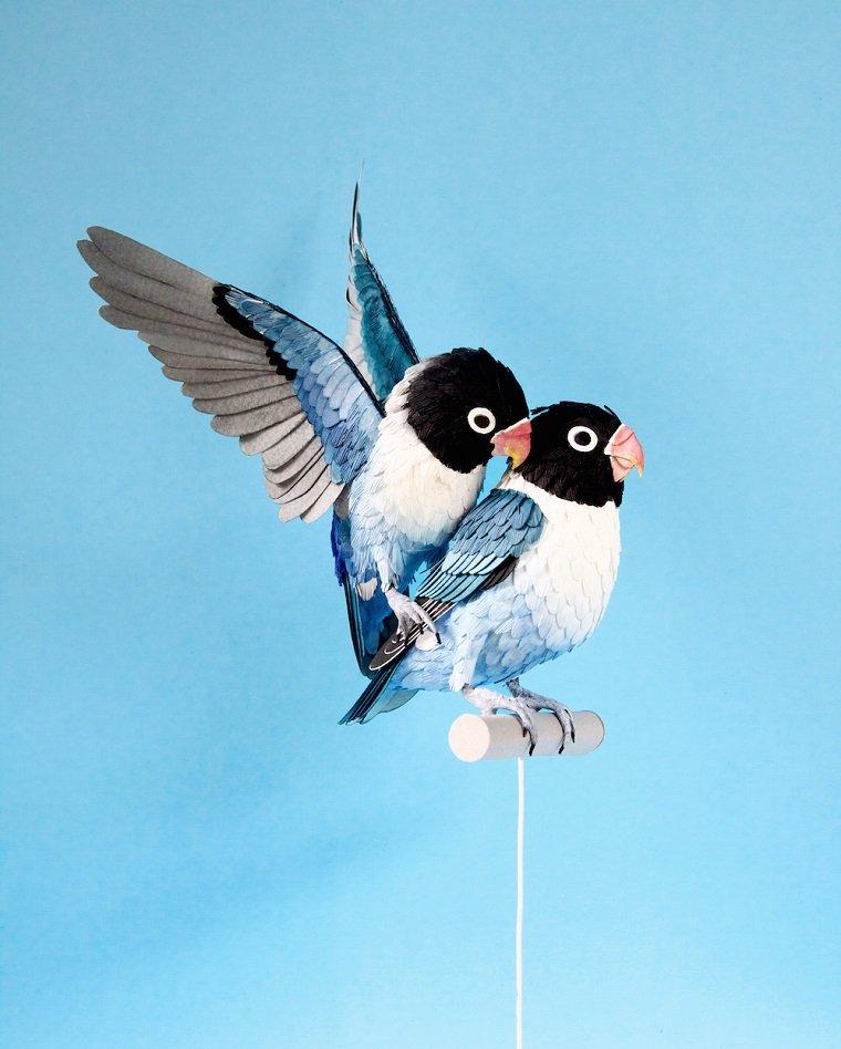 Волшебные птицы из бумаги by Diana Beltran Herrera