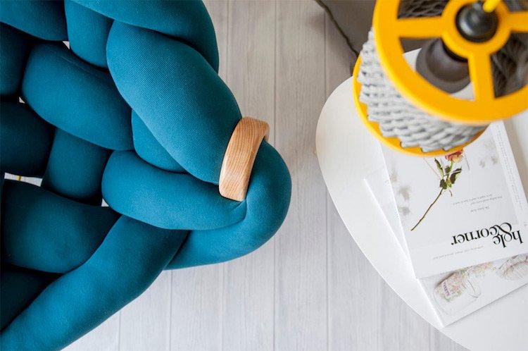 Уютное дизайнерское кресло by Veega Tankun