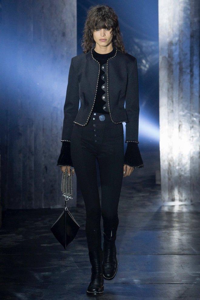 Новая коллекция Alexander Wang – черный цвет и простота линий