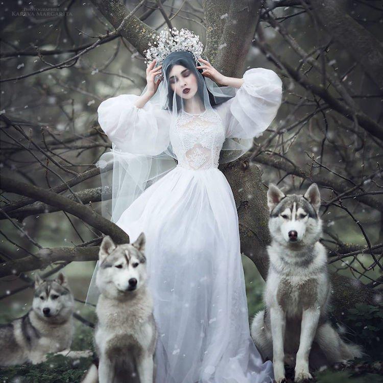 Русские сказки в фото-проекте Маргариты Каревой