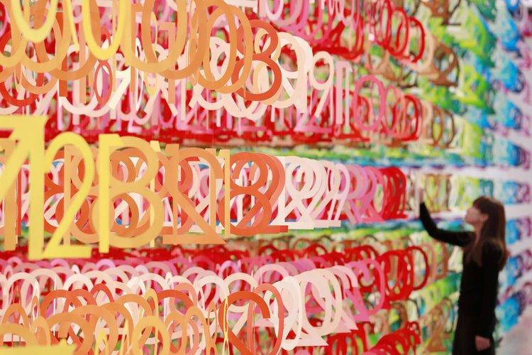Лес цифр в 100 оттенков by Emmanuelle Moureaux