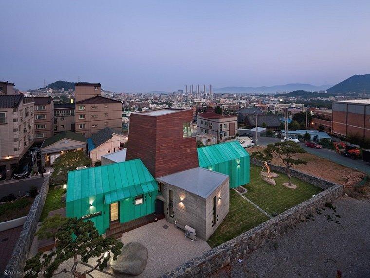 Дизайнерский дом со смотровой башней by ON Architecture