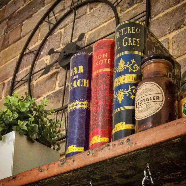 Подарок для любителей чая и книг by NovelTeas