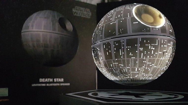 Колонки в форме Звезды смерти из Star Wars