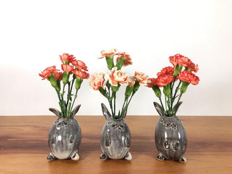 Handmade горшки для цветов by Yoshiko Kozawa