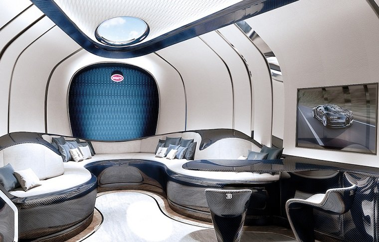 Роскошная яхта от известного бренда Bugatti