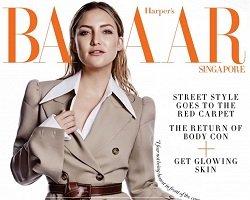 Кейт Хадсон на обложке Harper's Bazaar