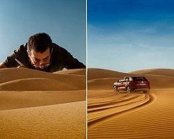 Новая реклама Audi – моделька машины и гений фотографии