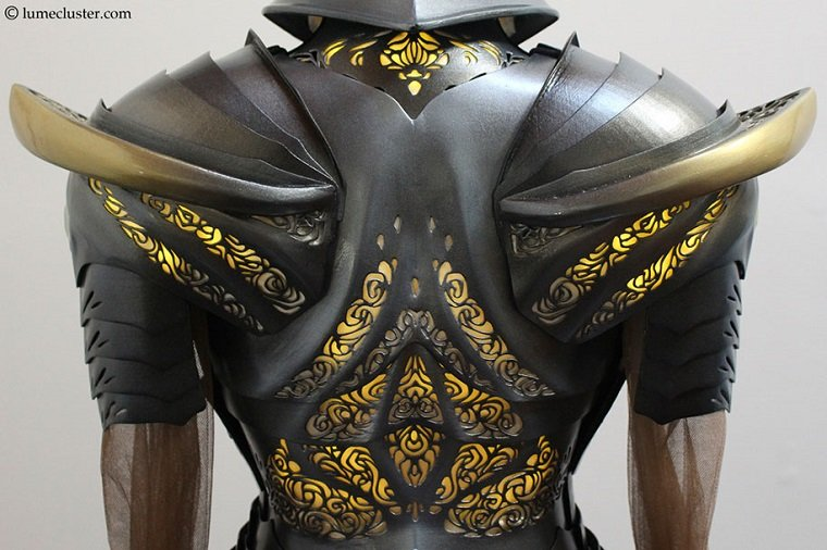Рыцарские доспехи в технике 3D-печати by Melissa Ng