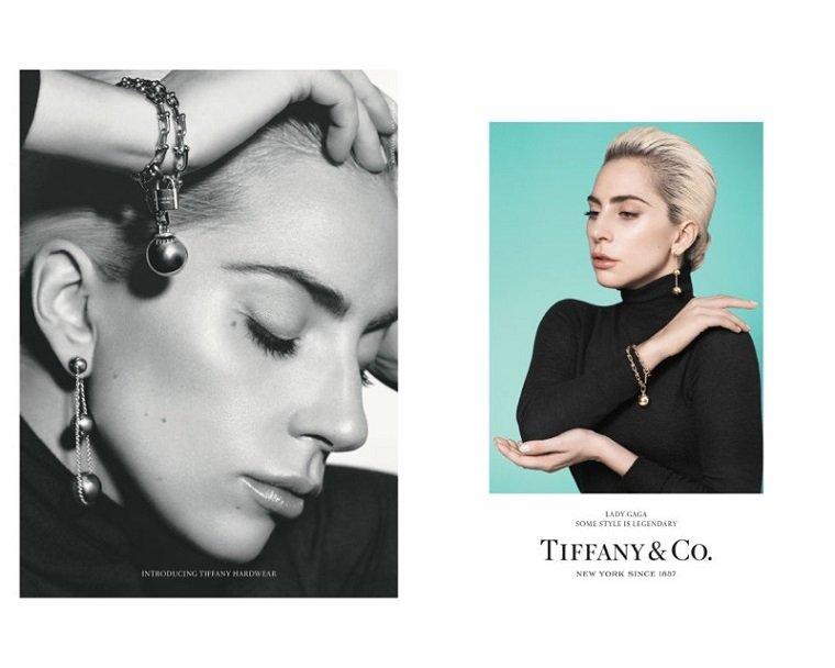 Элегантные образы Lady Gaga в рекламе Tiffany