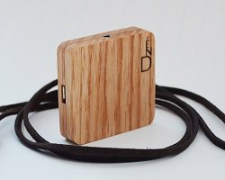 Bluetooth-аудио адаптер из натурального дерева от Dzen