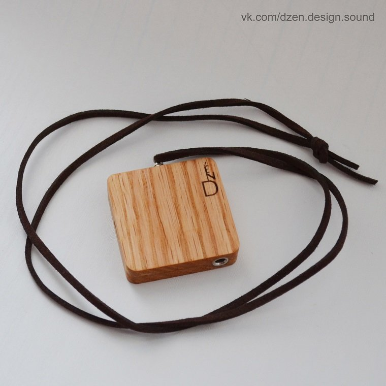 Bluetooth-аудио адаптер в корпусе из натурального дерева от Dzen