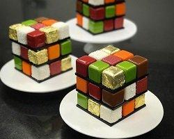 Сладкий кубик Рубика от известного кондитера Cedric Grolet