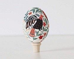 Handmade декор пасхальных яиц в фольклорном стиле