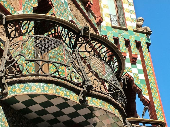 Дом-музей архитектора Antoni Gaud? в Барселоне