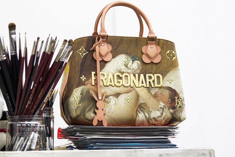 Картины великих художников на сумках Louis Vuitton