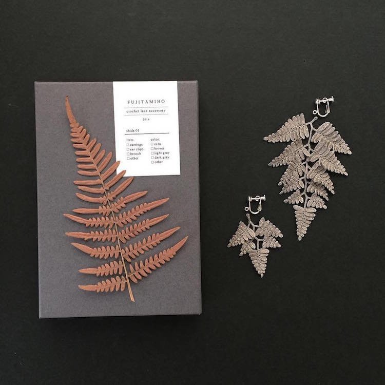 Вязаные handmade украшения в природном стиле