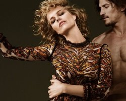 Eva Herzigova в рекламе новой коллекции Roberto Cavalli