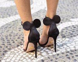 Модные туфли в стиле Минни Маус by Oscar Tiye