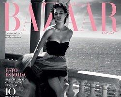 Адриана Лима на обложке Harpers Bazaar