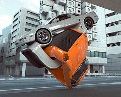 Оригинальный авто-дизайн в серии роликов by Chris Labrooy