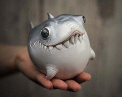 Очаровательные handmade фигурки морских обитателей