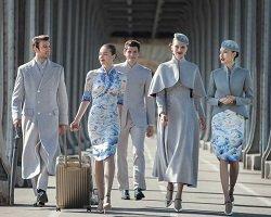 Новая fashion-униформа китайской авиакомпании Hainan Airlines