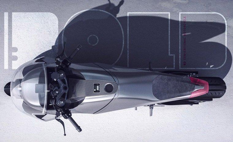 Концептуальный электро-мотоцикл BOLD by Camal Studio