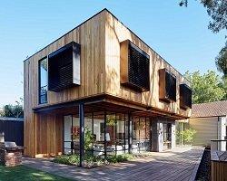 Деревянный дом от австралийских дизайнеров