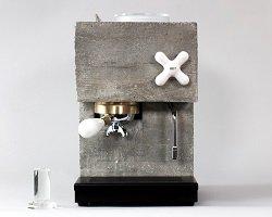 Кофеварка из цемента by AnZa