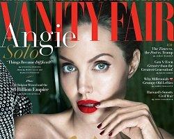 Анджелина Джоли на обложке Vanity Fair