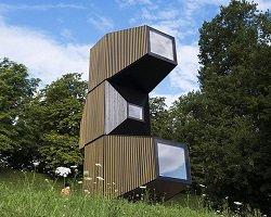 Компактный модульный дом by OFIS Architects