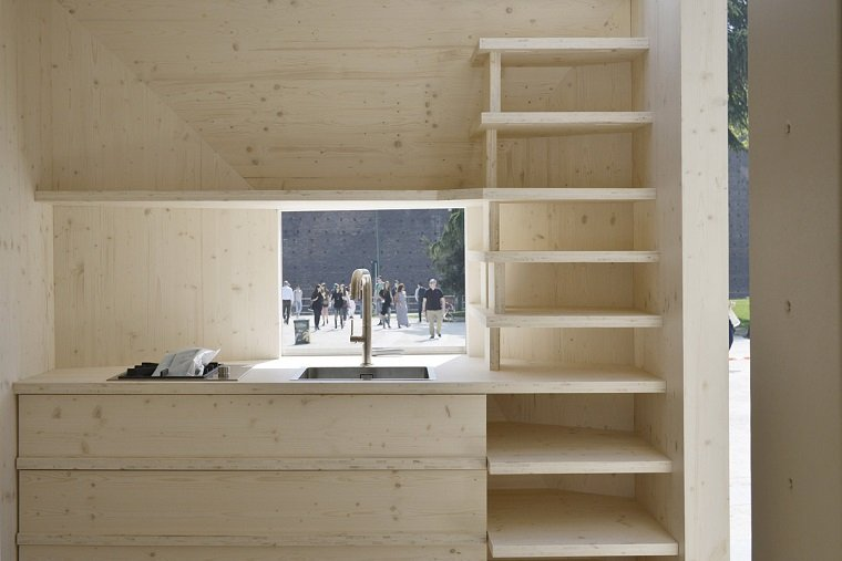 Компактный модуль для проживания by OFIS Architects