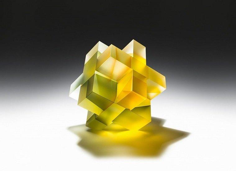 Сегментные скульптуры из стекла by Jiyong Lee