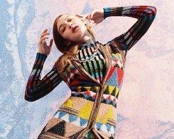 Gigi Hadid в рекламе новой коллекции бренда Missoni