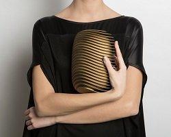 Модный клатч в технике 3D печати
