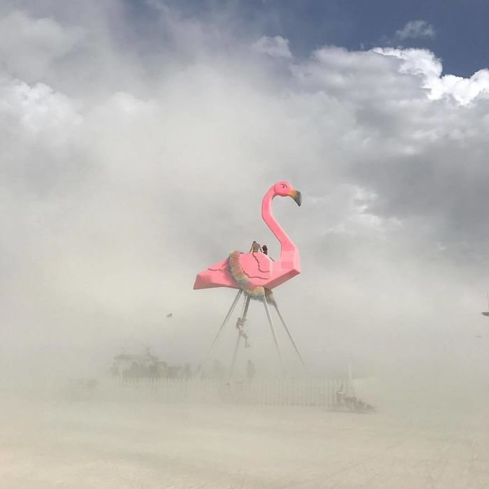 Фестиваль Burning Man 2017